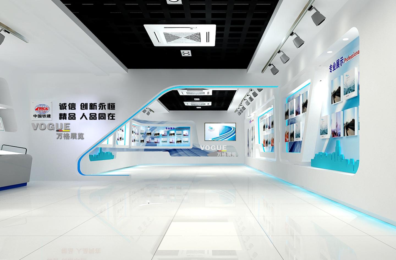 企业展厅设之中铁25局展厅